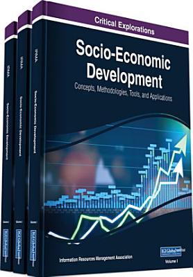 Socio Economic Development  Concepts  Methodologies  Tools  and Applications