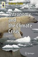 Astronomy and the Climate Crisis PDF
