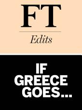 If Greece goes...: The impact of a Greek default on Europe and the world economy