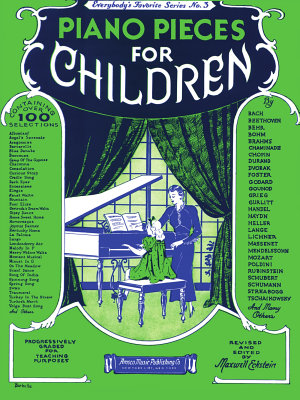 Everybody s Favorite Series No 3  Piano Pieces For Children