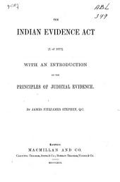 The Indian Evidence Act (I. of 1872)