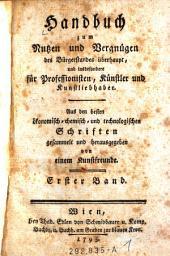 Handbuch zum Nussen und Vergnungen