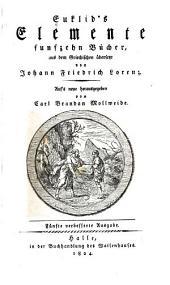 Euklid's Elemente funzehn bücher