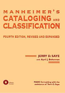 Manheimer s Cataloging and Classification  Revised and Expanded
