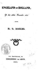 Engeland en Holland, op den 18den november 1831