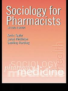 Sociology for Pharmacists PDF