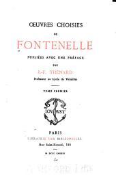 Œuvres choisies de Fontenelle