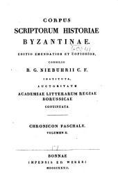 Corpus Scriptorum Historiae Byzantinae: Volume 17