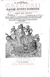 Omnia quae extant, opera: Volume 1