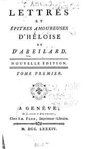 Les lettres et épitres amoureuses d'Héloïse et d'Abeilard