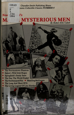 New England s Mad and Mysterious Men PDF