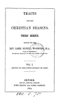 Tracts for the Christian Seasons   First second Series   PDF