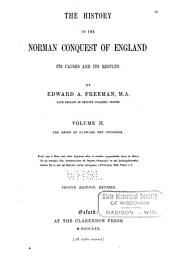 The History of the Norman Conquest of England: The reign of Eadward the Confessor