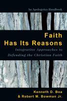 Faith Has Its Reasons PDF