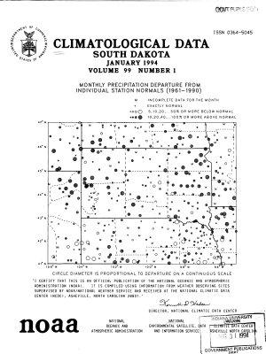 Climatological Data