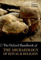 The Oxford Handbook of the Archaeology of Ritual and Religion PDF