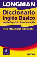 Longman Diccionario Inglés Básico