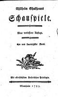 Will  Shakespear s Schauspiele PDF