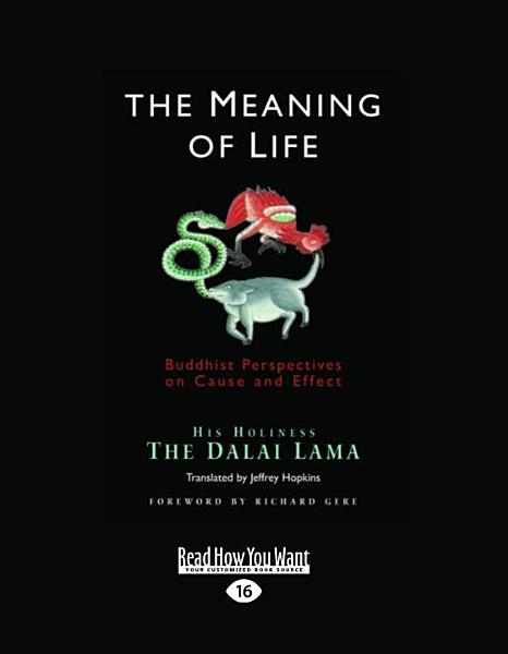 The Meaning of Life (Large Print 16pt)