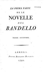 La prima (seconda et teza) parte de la Novelle...
