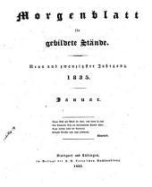 Morgenblatt für gebildete leser: Band 29,Ausgabe 1