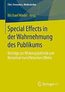 Special Effects in der Wahrnehmung des Publikums PDF