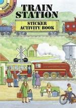 Train Station Sticker Activity Book