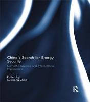 China   s Search for Energy Security PDF