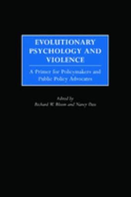 Download Evolutionary Psychology and Violence Book