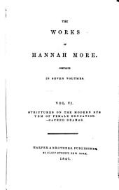 The Complete Works of Hannah More: Volume 6