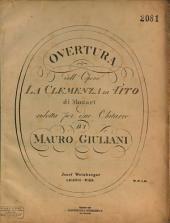 Overtura dell'opera La clemenza di Tito