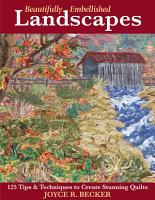 Beautifully Embellished Landscapes PDF