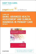 Advanced Health Assessment and Clinical Diagnosis in Primary Care PDF