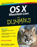 OS X Mountain Lion For Dummies PDF