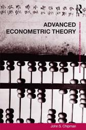Advanced Econometric Theory