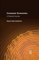 Consumer Economics  A Practical Overview PDF