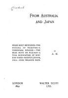From Australia and Japan PDF