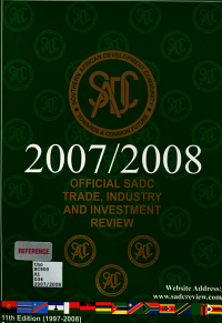 Official SADC Trade  Industry  and Investment Review PDF