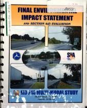 MD-210 Multi-modal Study (Indian Head Highway), Improvements Between I-95/I-495 and MD-228, Prince George's County: Environmental Impact Statement