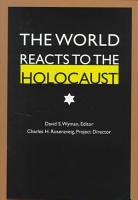 The World Reacts to the Holocaust PDF