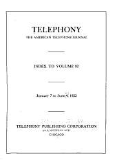 Telephony: Volume 82