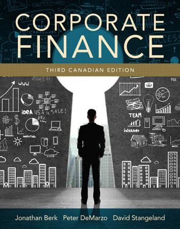 Corporate Finance  Third Canadian Edition  PDF