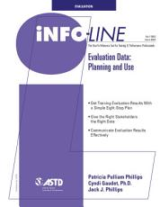 Evaluation Data  Planning and Use PDF