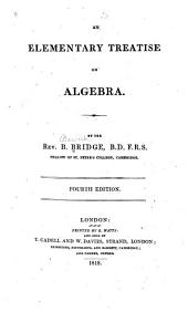 An Elementary Treatise on Algebra