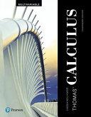Thomas  Calculus  Multivariable PDF