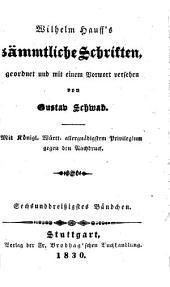 Sämmtliche Schriften: Phantasien im Bremer Rathskeller, Band 36