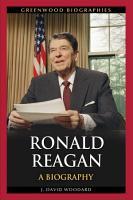 Ronald Reagan  A Biography PDF