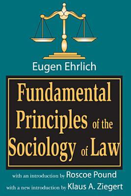 Fundamental Principles of the Sociology of Law PDF