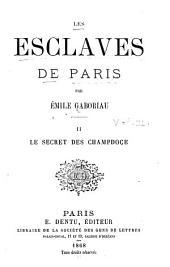 Les esclaves de Paris: Volume2