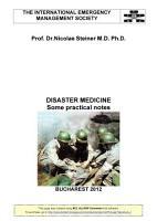 DISASTER MEDICINE PDF